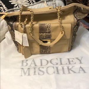 Badgley Mischka Shoulder Tote